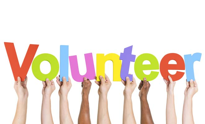 Don't say thank you to volunteers
