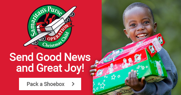 A few things about Operation Christmas Child